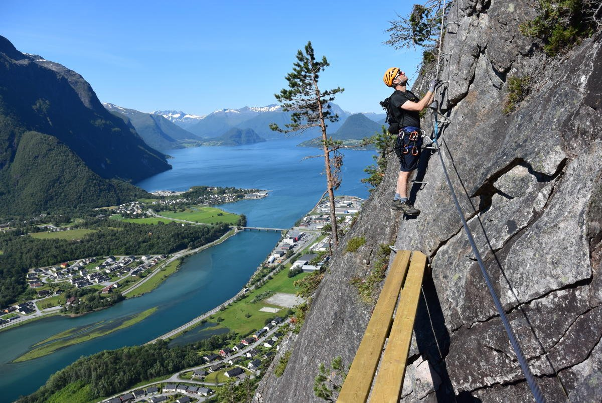 Via Ferrata Åndalsnes
